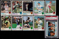Baseball Cards:Sets, 1973 Topps Baseball Mid to High Grade Complete Set (660), Plus 3 Variations and a PSA 8 Schmidt Rookie. ...