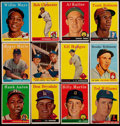 Baseball Cards:Lots, 1958 Topps Baseball Collection (512) With Stars & HoFers. ...