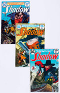 Bronze Age (1970-1979):Miscellaneous, The Shadow #1, 3, and 4 Group (DC, 1973-74) Condition: AverageNM-.... (Total: 4 Comic Books)