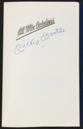 "Baseball Collectibles:Publications, Mickey Mantle Signed ""All My Octobers ""Hardcover"" Book...."