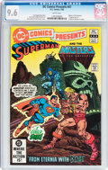 Modern Age (1980-Present):Superhero, DC Comics Presents #47 Superman/Masters of the Universe (DC, 1982)CGC NM+ 9.6 White pages....