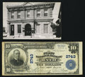 National Bank Notes:Maine, Bath, ME - $10 1902 Plain Back Fr. 624 The First NB Ch. # 2743. ... (Total: 2 items)