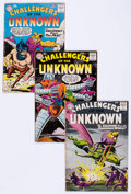 Silver Age (1956-1969):Superhero, Challengers of the Unknown Group of 18 (DC, 1960-66) Condition: Average VG-.... (Total: 18 Comic Books)