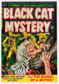 Golden Age (1938-1955):Horror, Black Cat Mystery #38 File Copy (Harvey, 1952) Condition: NM-....