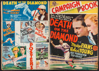 """Death on the Diamond & Others Lot (MGM, 1934). Uncut Pressbooks (6) (Multiple Pages, 11"""" X 15"""", 11.25&..."""