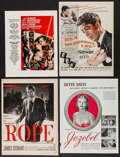 Movie Posters:Academy Award Winners, Grand Hotel & Others Lot (MGM, 1932). Magazine Advertisements,Partial Pressbooks, Partial Comic Books, & Other Items (90)(... (Total: 90 Items)