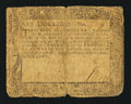 Colonial Notes:Maryland, Maryland December 7, 1775 $6 Very Good.. ...