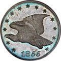 1855 P1C Flying Eagle Cent, Judd-173, Pollock-198, Low R.7, PR65 Brown PCGS. CAC....(PCGS# 11748)