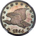 1855 P1C Flying Eagle Cent, Judd-172, Pollock-198, Low R.6, PR65 Brown NGC. CAC....(PCGS# 11740)