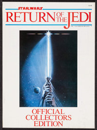 """Return of the Jedi (Paradise Press, 1983). Official Collector's Edition Program (64 Pages, 8"""" X 11""""). Science..."""