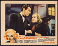 """Movie Posters:Comedy, Love Before Breakfast (Universal, 1936). Lobby Card (11"""" X 14"""").Comedy.. ..."""