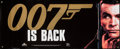 "Movie Posters:James Bond, James Bond is Back! (MGM/UA Home Entertainment, 1995). Vinyl VideoBanner (24"" X 59""). James Bond.. ..."