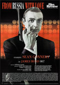 "Movie Posters:James Bond, From Russia with Love (Film Review, R-2002). British Poster (24"" X34"") Review Style. James Bond.. ..."
