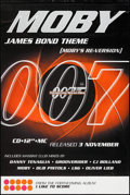 """Movie Posters:James Bond, Tomorrow Never Dies Moby Music Poster (Mute Records, 1997). Music Poster (40"""" X 60"""") SS Advance. James Bond.. ..."""