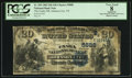 National Bank Notes:Tennessee, Johnson City, TN - $20 1882 Date Back Fr. 555 The Unaka NB Ch. #(S)5888. ...