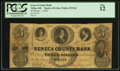 Obsoletes By State:Ohio, Tiffin, OH - Seneca County Bank $3 Jan. 1, 1855 G4a Wolka 2533-06....