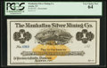 Obsoletes By State:Nevada, Austin, NV - Manhattan Silver Mining Co. $1 187_ Remainder . ...