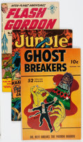 Golden Age (1938-1955):Miscellaneous, Comic Books - Assorted Golden Age Comics Group of 3 (Various Publishers, 1940s).... (Total: 3 Comic Books)