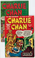 Golden Age (1938-1955):Crime, Charlie Chan #1 and 4 Group (Crestwood, 1948-49) Condition: Average VG/FN.... (Total: 2 Comic Books)