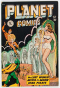 Golden Age (1938-1955):Science Fiction, Planet Comics #56 (Fiction House, 1948) Condition: FN+....