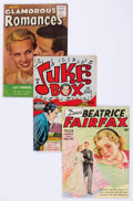 Golden Age (1938-1955):Romance, Comic Books - Assorted Golden Age Romance Comics Group of 12(Various Publishers, 1940s-50s) Condition: Average FN.... (Total:12 Comic Books)