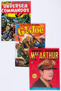 Golden Age (1938-1955):War, Comic Books - Assorted Golden Age War Comics Group of 6 (VariousPublishers, 1940s-50s) Condition: Average FN.... (Total: 6 ComicBooks)