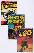 Golden Age (1938-1955):War, Comic Books - Assorted Golden Age War Comics Group of 17 (VariousPublishers, 1940s-50s) Condition: Average VG.... (Total: 17 ComicBooks)