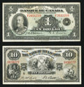 Canadian Currency: , BC-2 $1 1935;. Halifax, NS-Bank of Nova Scotia $10 Jan .2, 1935 Ch. # 550-26-04. ... (Total: 2 notes)