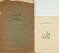 Books:Reference & Bibliography, [Illustration Art, Bibliography]. Pair of Bibliographies/CheckLists. Various publishers, 1957 - 1970. . ... (Total: 2 Items)