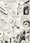 Original Comic Art:Panel Pages, Don Heck and Mike Esposito (as Mickey Demeo) Tales ofSuspense #66 Iron Man Story Page 4 Original Art (Marvel, 196...