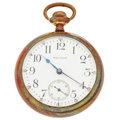 Timepieces:Pocket (post 1900), Waltham 21 Jewel Vanguard 18 Size Pocket Watch. ...