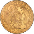 Early Half Eagles, 1798 $5 Large Eagle, Small 8, BD-6, R.6, VF20 PCGS....