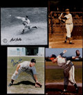 Baseball Collectibles:Others, Baseball Greats Signed Photographs, Etc. Lot of 10....