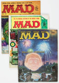Magazines:Mad, MAD Magazine Group of 18 (EC, 1956-85) Condition: Average VG.... (Total: 18 Comic Books)