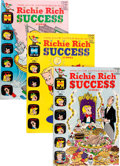 Silver Age (1956-1969):Humor, Richie Rich Success Stories File Copy Group (Harvey, 1965-72) Condition: Average NM-.... (Total: 38 )