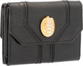 "Luxury Accessories:Accessories, Judith Leiber Black Lizard Coin Pouch. Very Good to ExcellentCondition. 3"" Width x 2"" Height x 0.5"" Depth. ..."