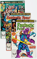 Modern Age (1980-Present):Superhero, Fantastic Four #234-273 Near Complete Long Box Group (Marvel,1981-84). Condition: Average NM-....