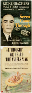 Books:Biography & Memoir, [Eddie Rickenbacker, subject]. [Aviation, World War II]. Pair ofBooks Related to Rickenbacker, One of Which is INSCRIBED. T...(Total: 2 Items)