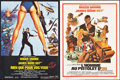 """Movie Posters:James Bond, The Man with the Golden Gun & Others Lot (United Artists, R-1985). French Petites (4) (15.25""""-15.5"""" X 20.5""""-21.5""""). James Bo... (Total: 4 Items)"""