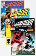 Modern Age (1980-Present):Superhero, Daredevil 1980s Long Box Group (Marvel, 1983-89) Condition: AverageNM-....