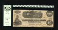 Confederate Notes:1862 Issues, T40 $100 1862. This $100 carries on the back a B.C. PressleyCharleston Sep. 10 issuance rubber stamping. PCGS Extremely F...