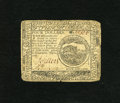 Colonial Notes:Continental Congress Issues, Continental Currency July 22, 1776 $4 Very Fine. A lovely note fromthis second scarcest emission which has always been unde...