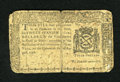 Colonial Notes:New York, New York August 13, 1776 $3 Very Good. Edge splits of approximatelyone-half and three-fourths of an inch are found at the t...