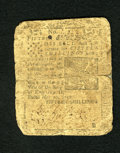 Colonial Notes:Pennsylvania, Pennsylvania May 20, 1758 15s Very Good. This note was printed byB(en) Franklin and D. Hall. A repair has been made down th...