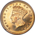 Gold Dollars, 1878 G$1 MS65 PCGS. Gold CAC....
