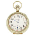 Timepieces:Pocket (post 1900), Illinois 17 Jewels 18 Size Time King Pocket Watch. ...