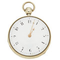 Timepieces:Pocket (pre 1900) , LeRoy, Paris Sterling Silver Key Wind/Parts Repeater Pocket Watch....