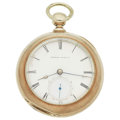 Timepieces:Pocket (pre 1900) , Melrose Watch Co. (Tremont) Key Wind Pocket Watch. ...