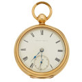 Timepieces:Pocket (pre 1900) , Waltham Appleton Tracy & Co. 18 Size Key Wind, Early KeystoneGold Filled Case. ...