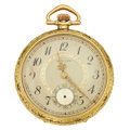 "Timepieces:Pocket (post 1900), E. Howard Watch Co. 17 Jewel ""Thin Model"" Pocket Watch. ..."